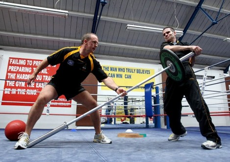 Mike McGurn and Bernard Dunne
