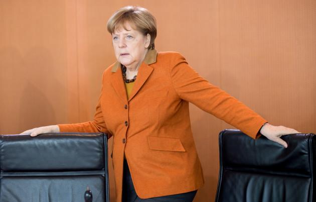 German cabinet meeting