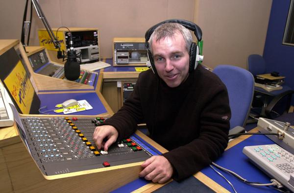 RAY DARCY RADIO STUDIOS HEADPHONES