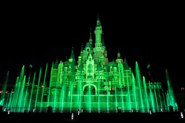 DISNEYLAND CASTLE IN SHANGHAI (CHINA) JOINS TOURISM IRELAND'S