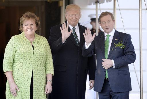 Trump meets the Taoiseach of Ireland