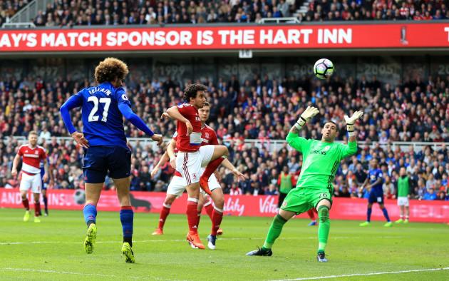 Middlesbrough v Manchester United - Premier League - Riverside Stadium