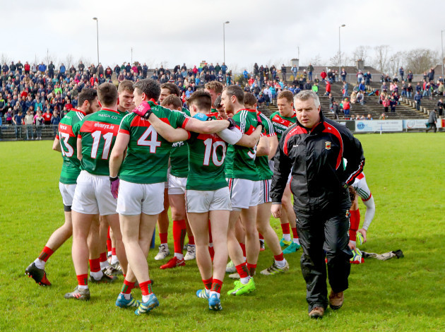 Stephen Rochford with his team