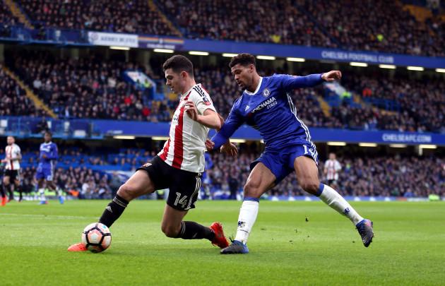 Chelsea v Brentford - Emirates FA Cup - Fourth Round - Stamford Bridge