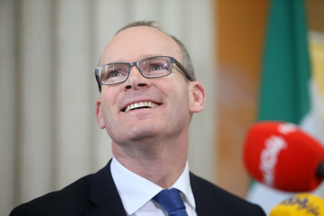 Minister Simon Coveney TD