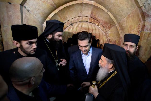 Israel-Jesus Tomb Restoration