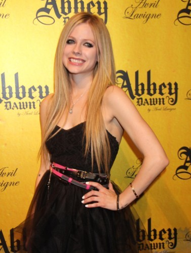 Avril Lavigne promotes Clothing Line - Las Vegas