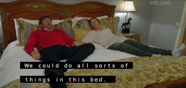 we could do all sorts of things in this bed