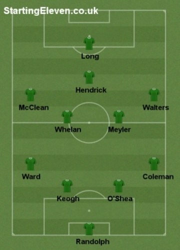 Ireland v Wales team