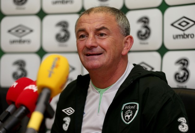 Soccer - FIFA World Cup Qualifying - Group C - Germany v Republic of Ireland - Ireland Training and Press Conference - Malahide