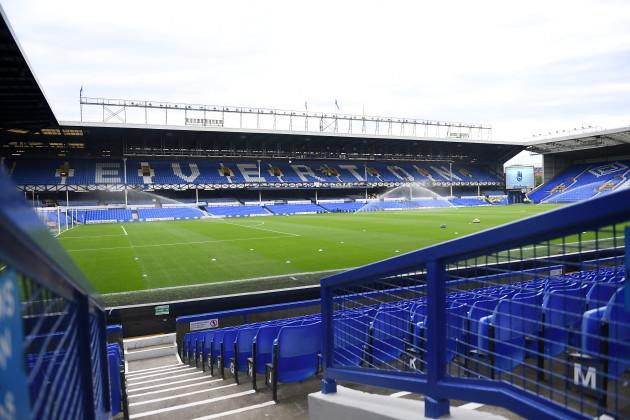 Everton v Stoke City - Premier League - Goodison Park