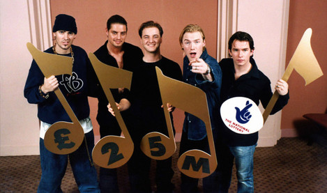 National Lottery - Boyzone - 1997