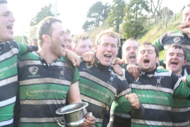 Clonmel players celebrate