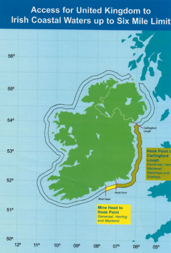Map Of Uk 12 Mile Limit.The Government Wants To Open Up Ireland S Exclusive Fishing