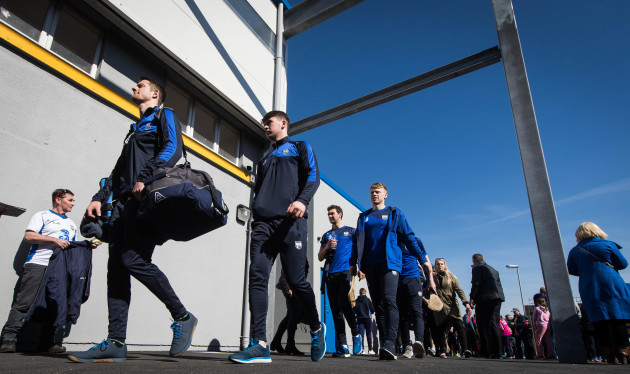 Waterford arrive