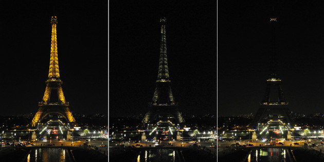 Earth Hour - Paris