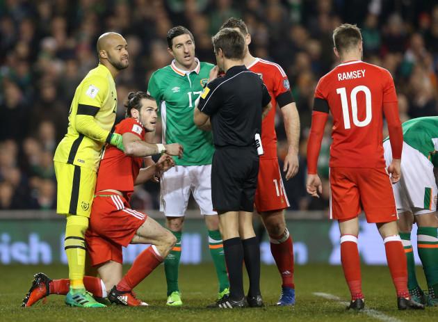 Republic of Ireland v Wales - 2018 FIFA World Cup Qualifying - Group D - Aviva Stadium