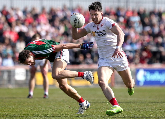 Colm McGeary on the attack