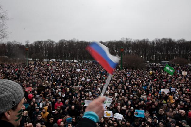 Russia: Anti Corruption Protest In Russia