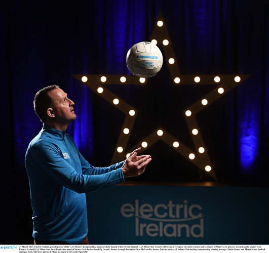 Electric Ireland GAA Minor Star Awards to recognise Major Stars of 2017