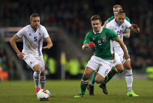 Republic of Ireland v Iceland - International Friendly - Aviva Stadium