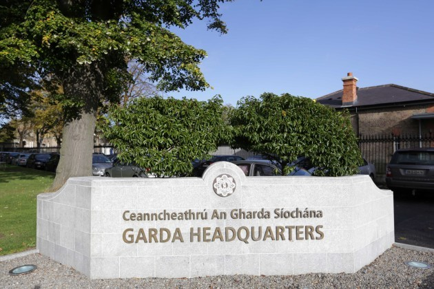 File Photo Garda Strike. Tomorrow Garda members will refuse to log on to the PULSE IT system or to engage in any PULSE-related activities between 7am and 7pm.