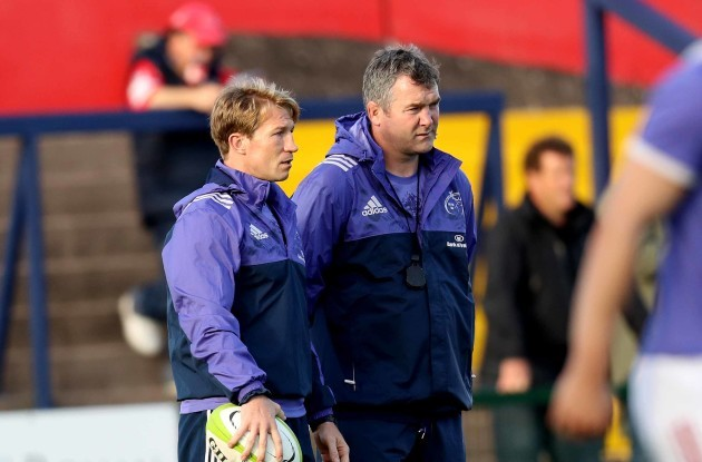 Munster's Jerry Flannery and Anthony Foley