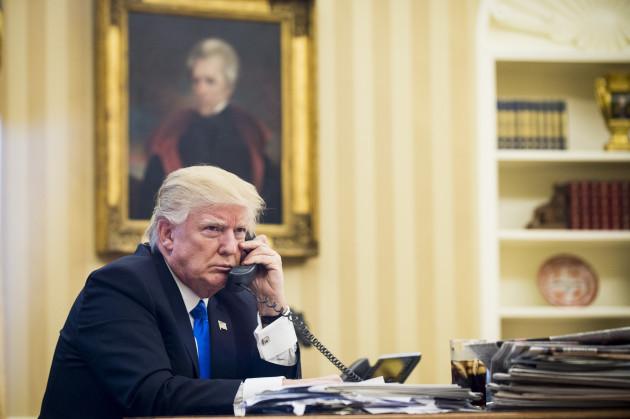 President Trump Calls Prime Minister of Australia