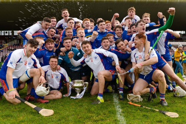 Mary Immaculate College Limerick celebrate winning