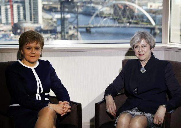 Theresa May visit to Scotland