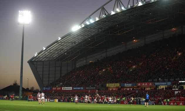 A view of Thomond Park