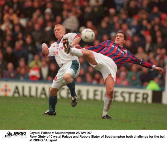 Rory Ginty and Robbie Slater 26/12/1997