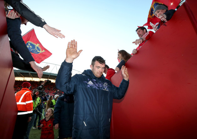 Peter O'Mahony after the game