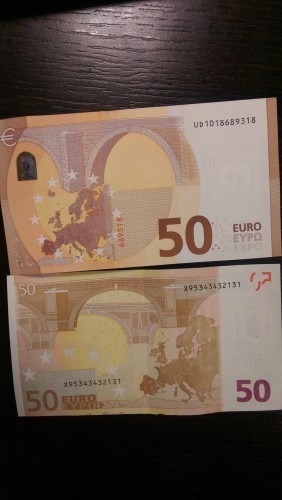 There's a new high-security €50 note out tomorrow - here's a