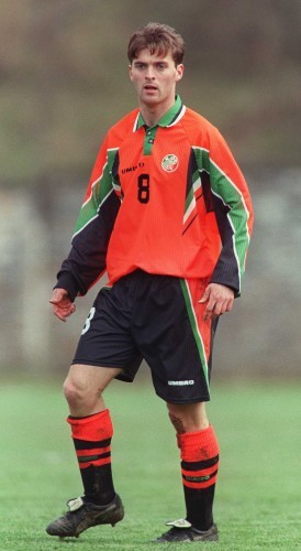 Willie Boland Republic of Ireland Under 21 1/4/1997