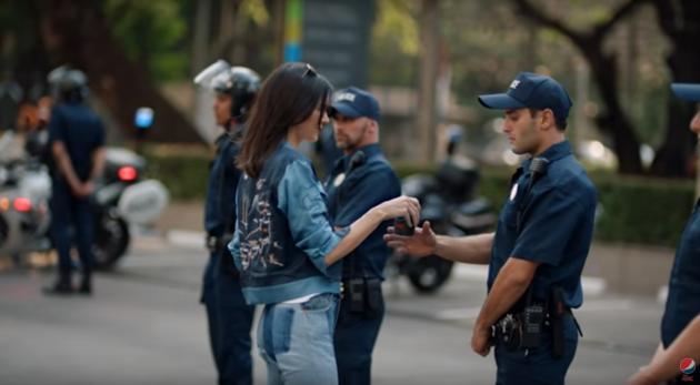 Kendal Jenner Pepsi