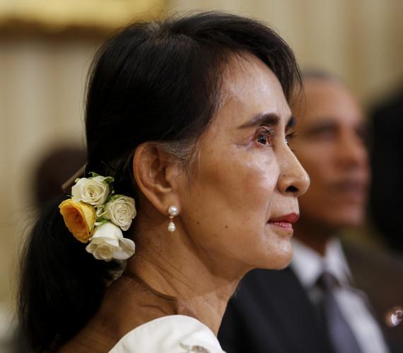 Obama Meets State Counsellor Aung San Suu Kyi of Myanmar (Burma)