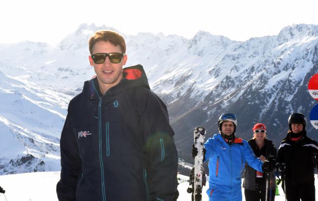 Winter start in Ischgl with James Blunt
