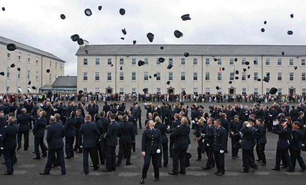 Garda graduation ceremony