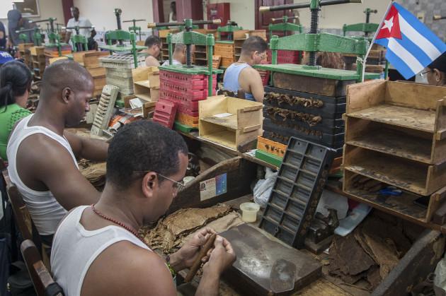 CUBA-HAVANA-INDUSTRY-TOBACCO