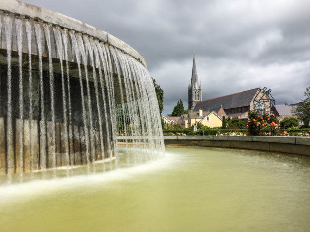 Fountain in the Tralee Green