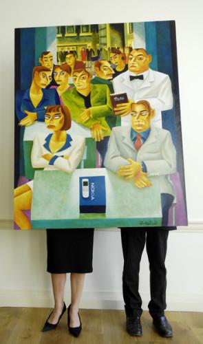 Knuttel Nokia Painting