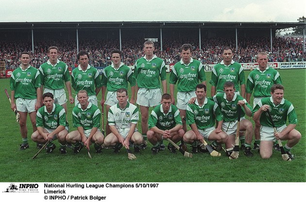Limerick  National Hurling League Champions 5/10/1997