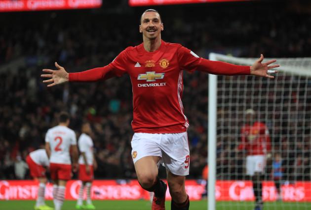 Manchester United v Southampton - EFL Cup - Final - Wembley Stadium