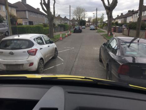 Dublin Fire brigade roads