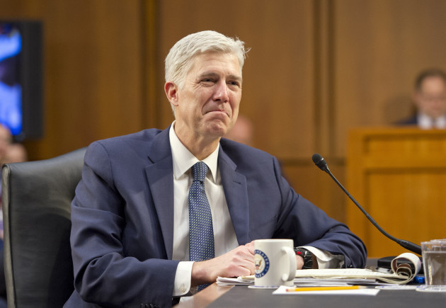 Gorsuch Confirmation Hearing