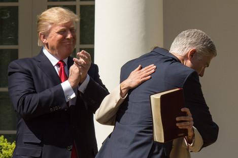 Gorsuch Sworn In As Supreme Court Justice