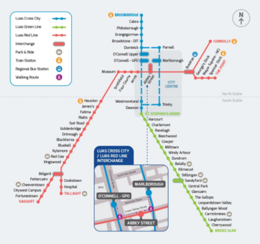 From December, this is what the Luas map will look like · TheJournal.ie