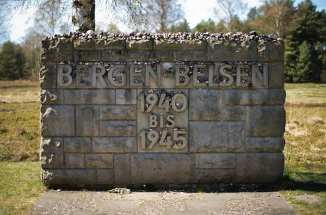 Bergen-Belsen memorial site