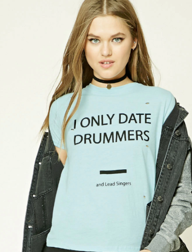 i only date drummers